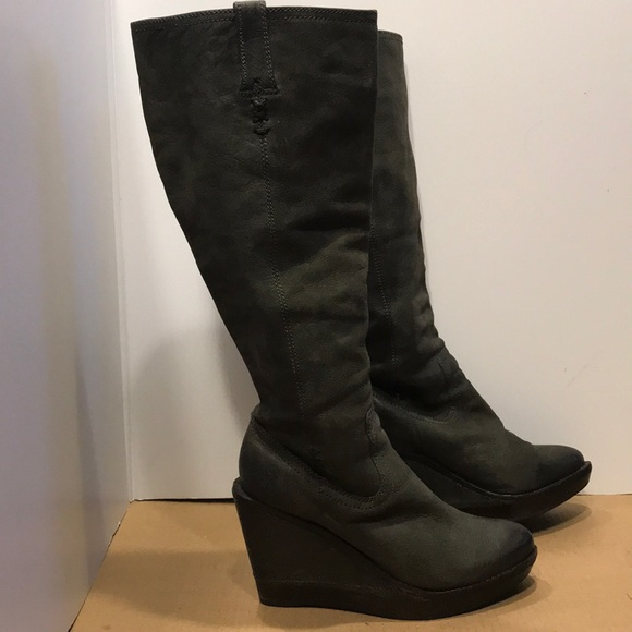 Frye Shoes - Frye Wedge Boots